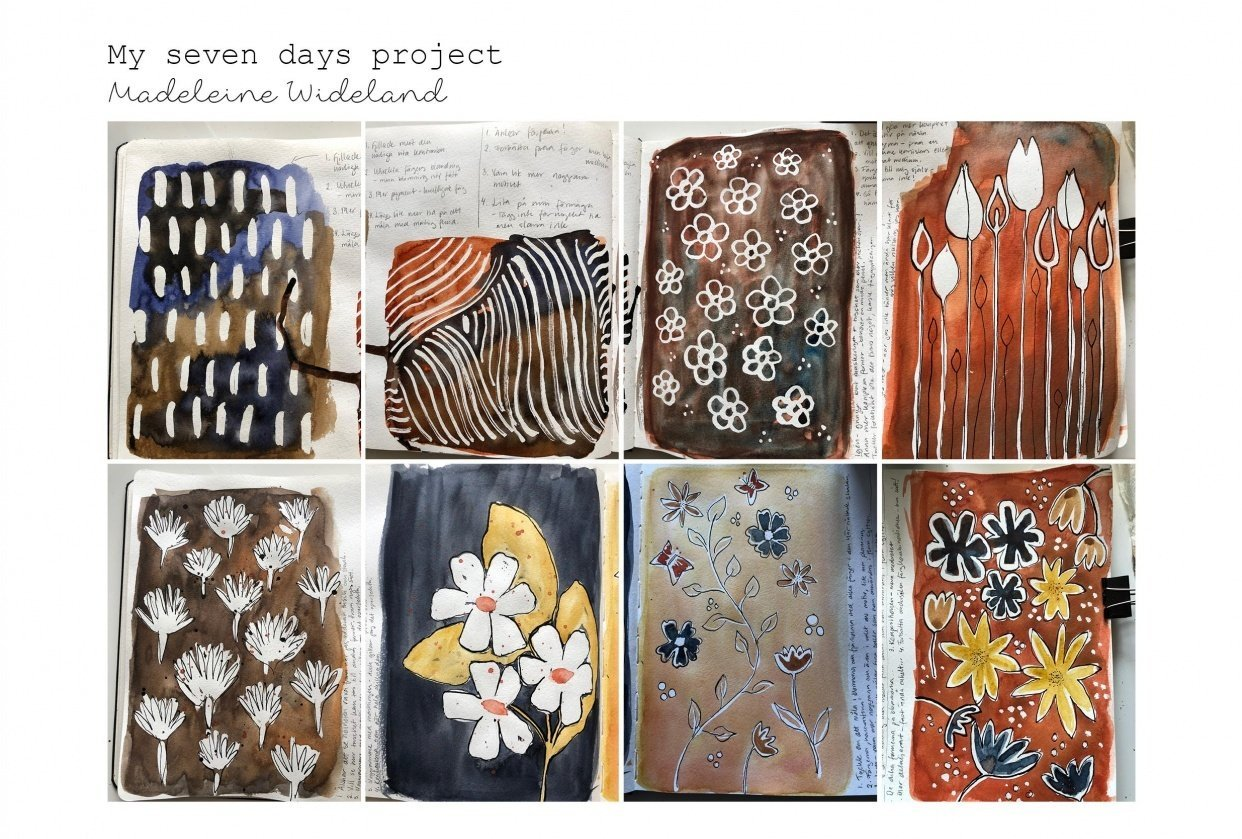 Madeleine Wideland - my seven days project - student project