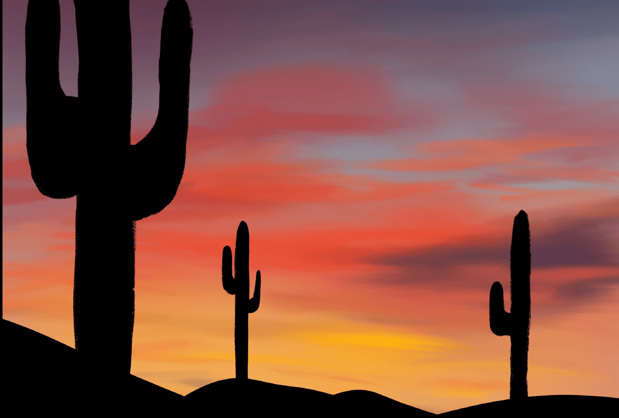 Desert Cactus - student project