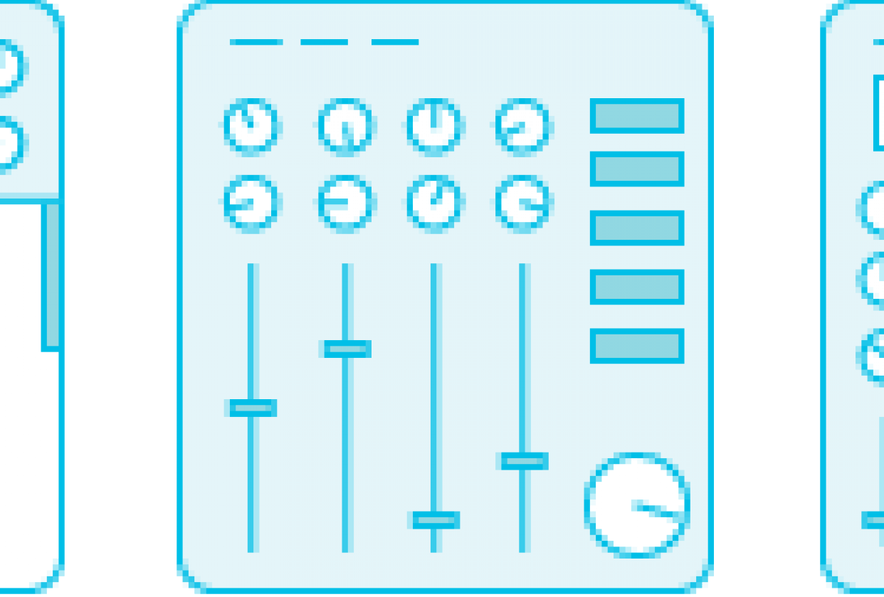 MIDI Instrument Icons - student project