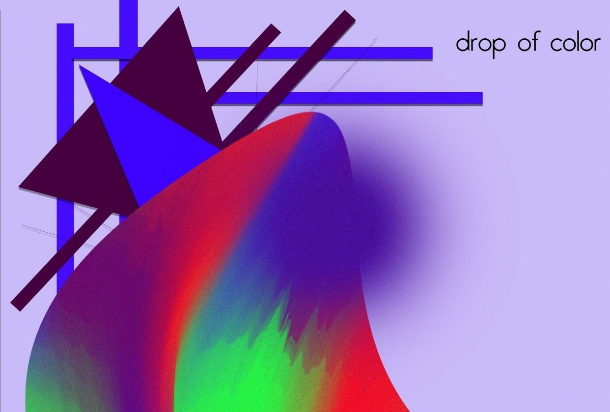 Drop of color - student project