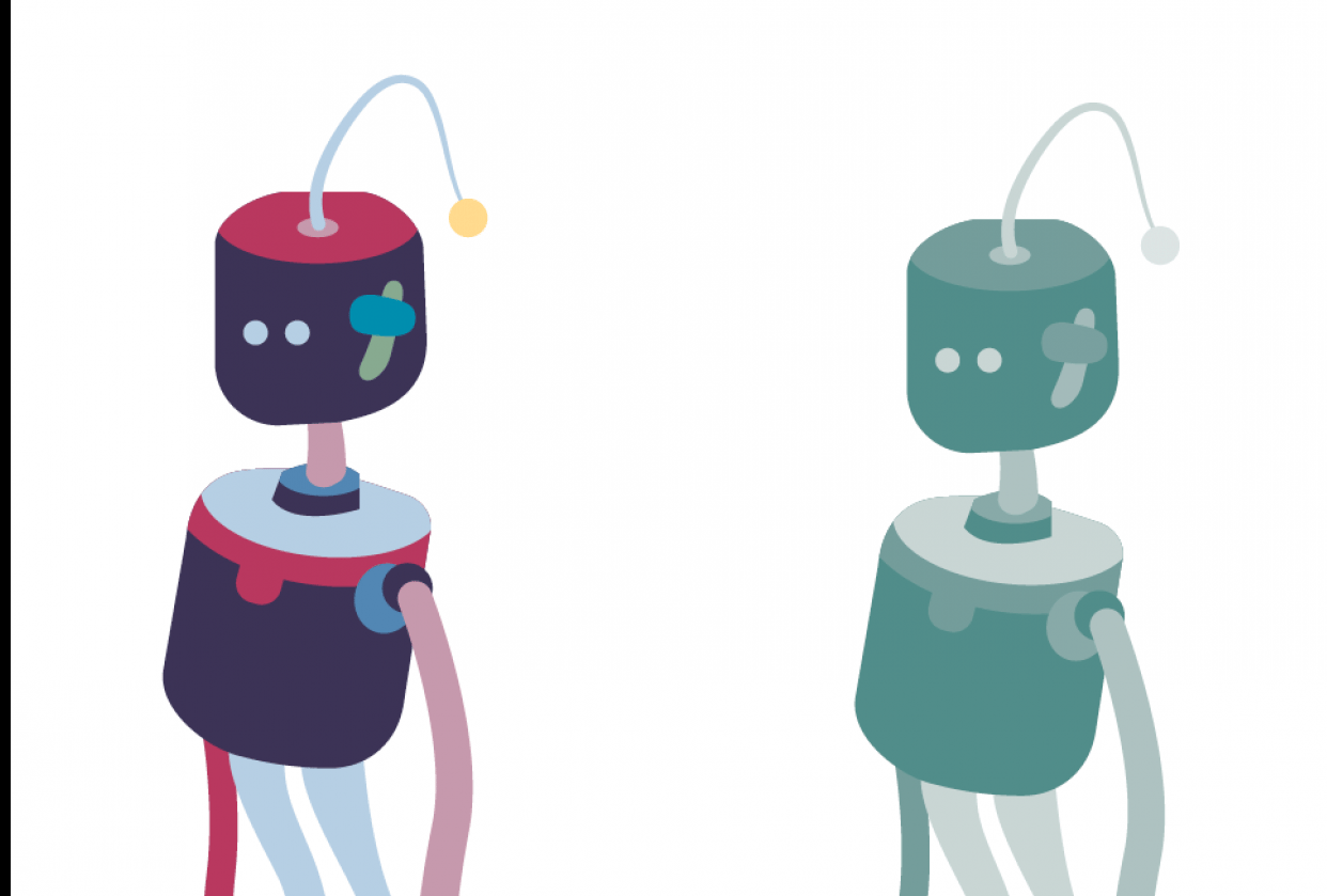 robot exercise - student project
