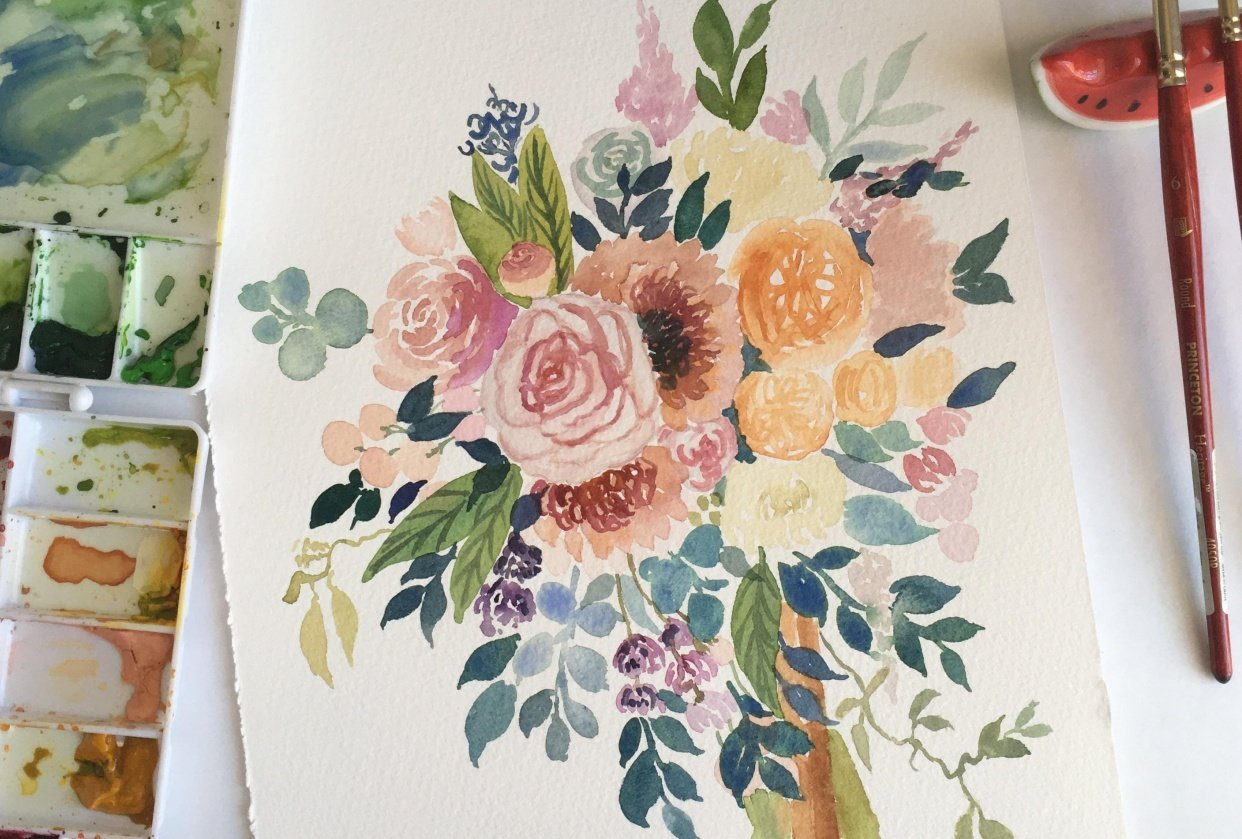 Wedding Bouquet - student project