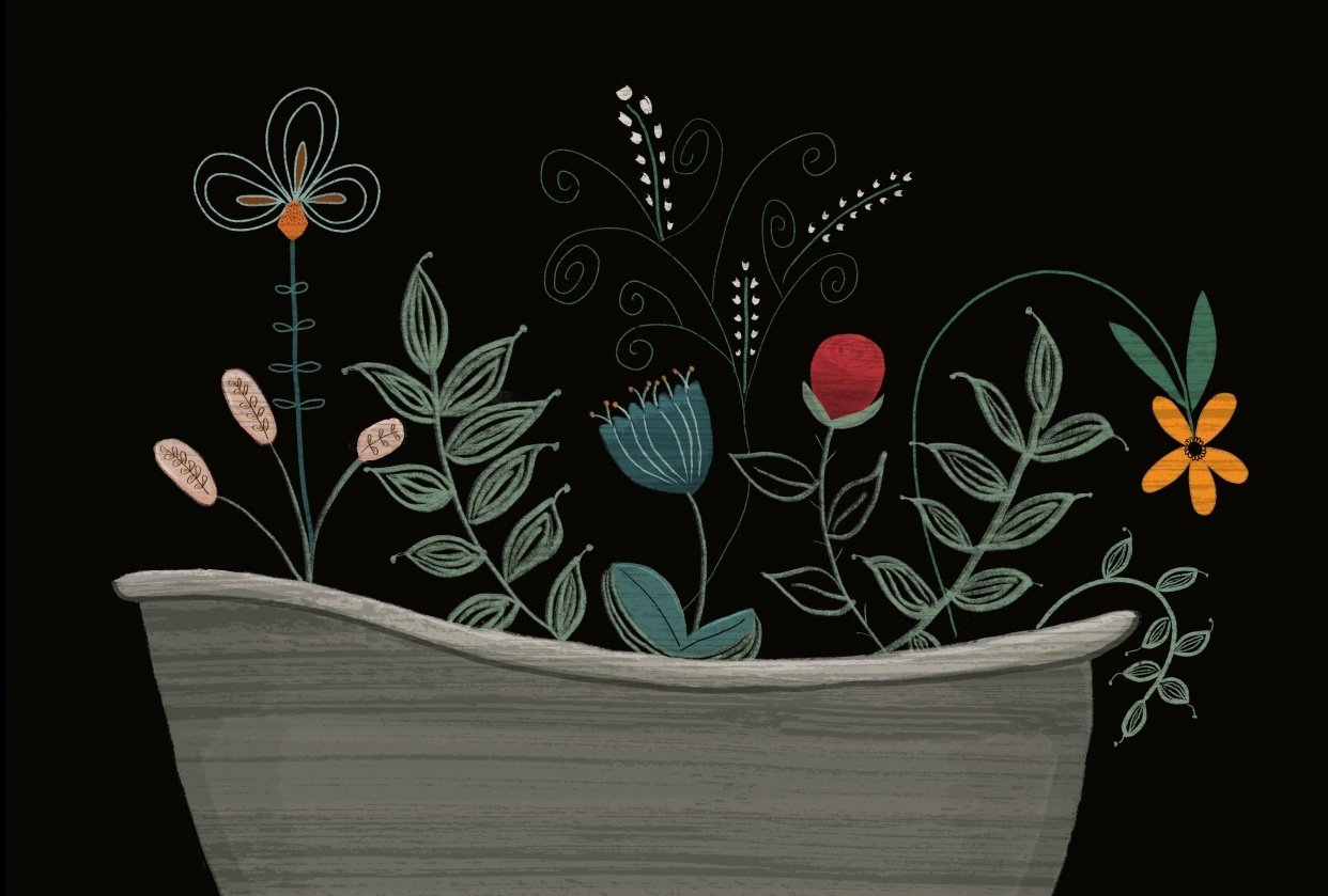 Bathtub Garden - student project