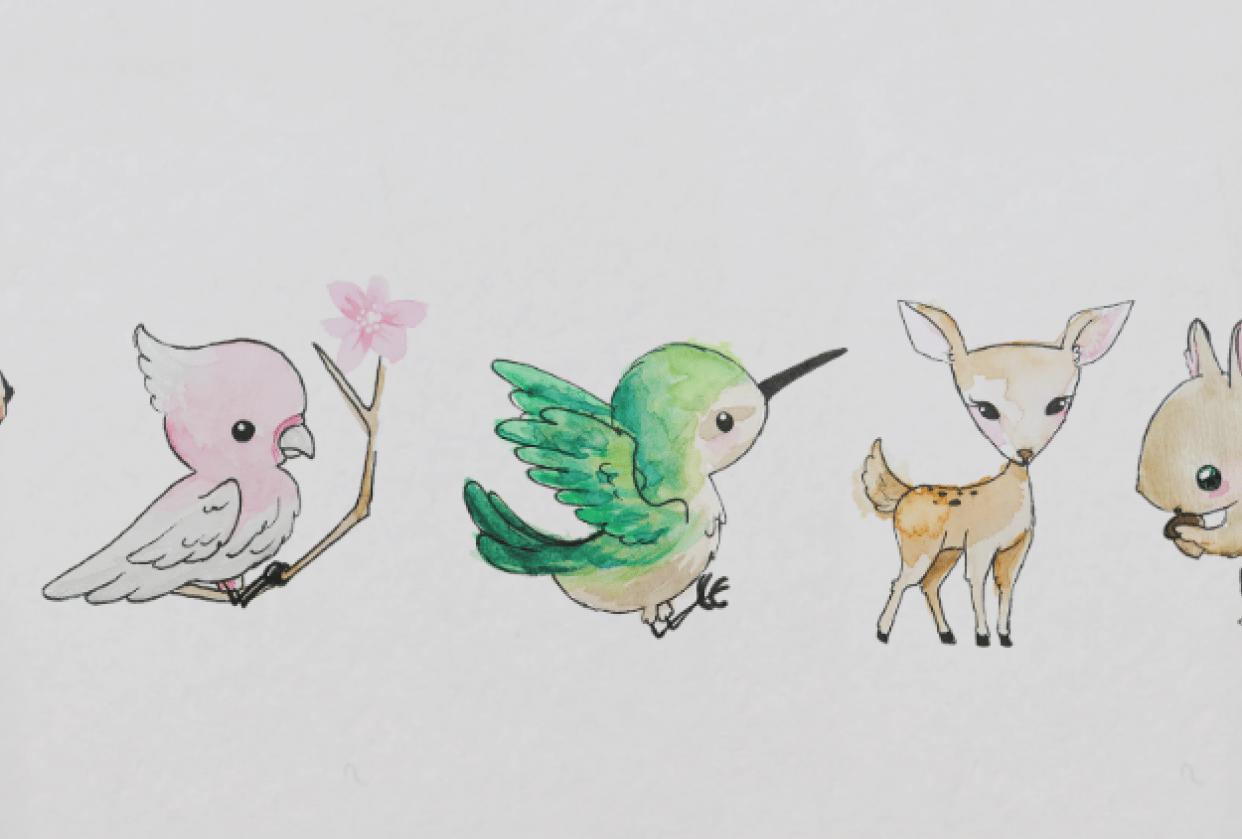 Cutie cuties. - student project