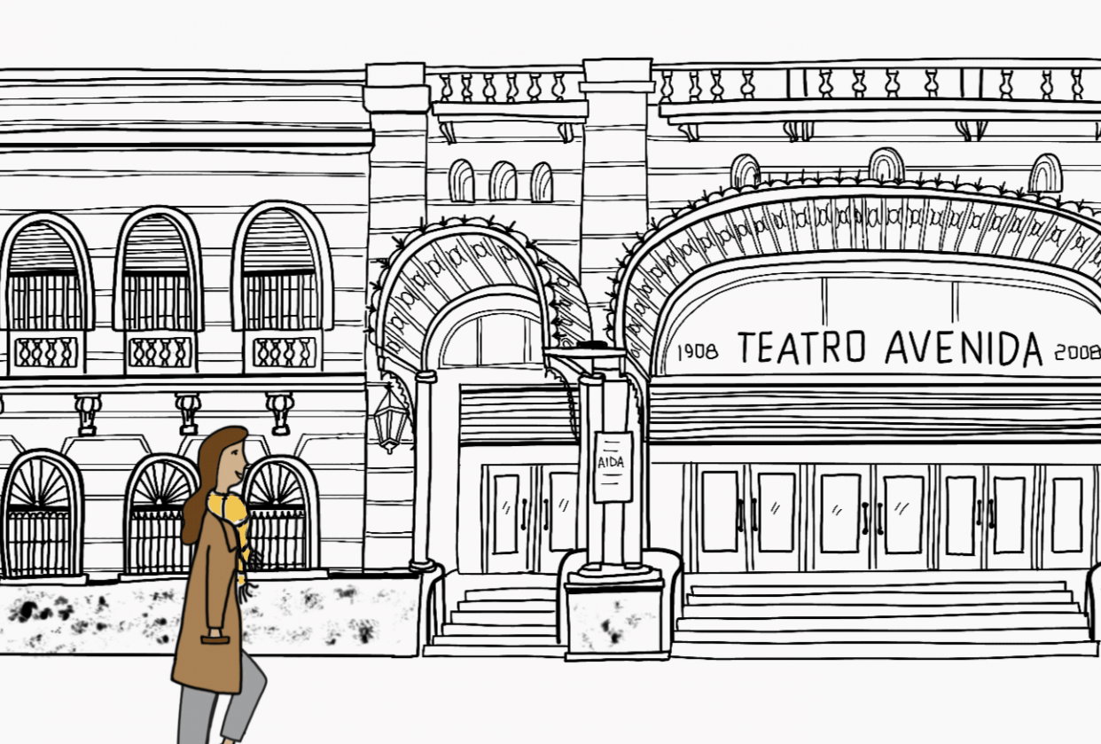 Walking in Buenos Aires - student project