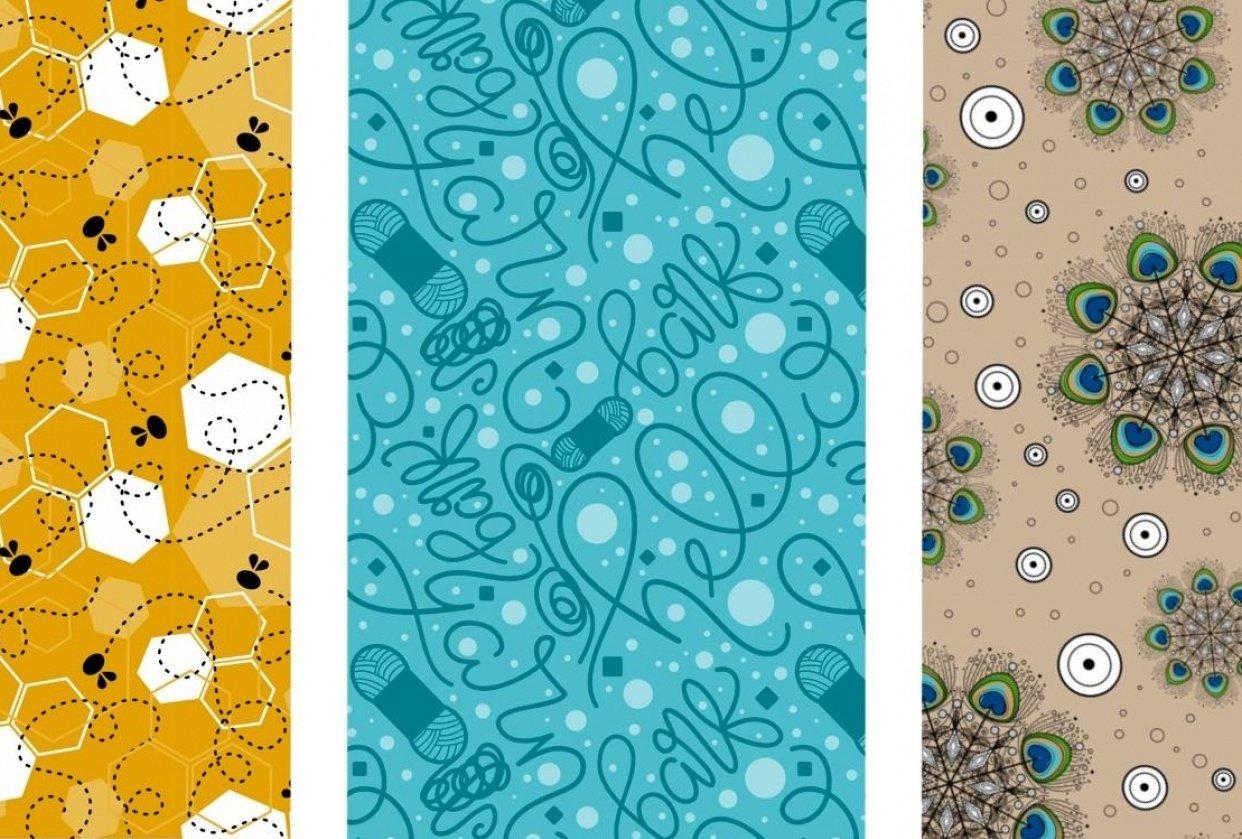 Surface Design Sampler - student project