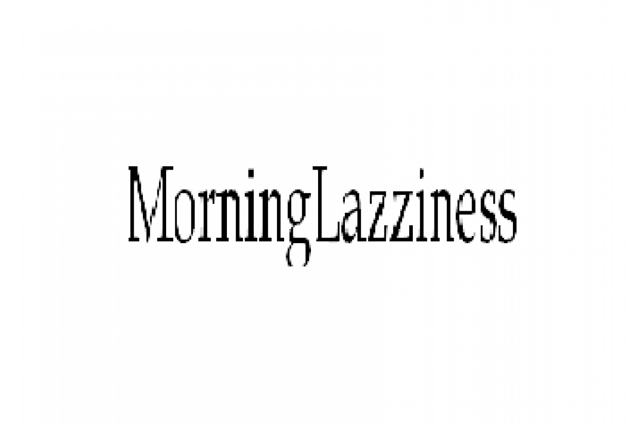 Morning Lazziness - student project