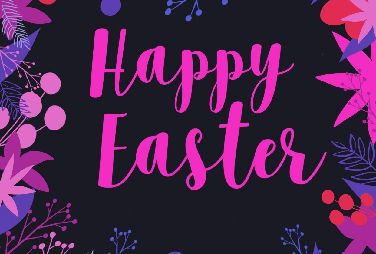 Easter happy - student project