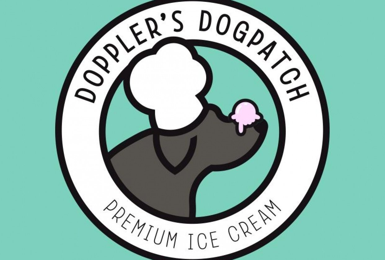 Logo for an ice cream company - student project
