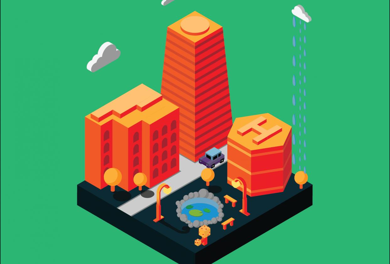 Orange City Block - student project