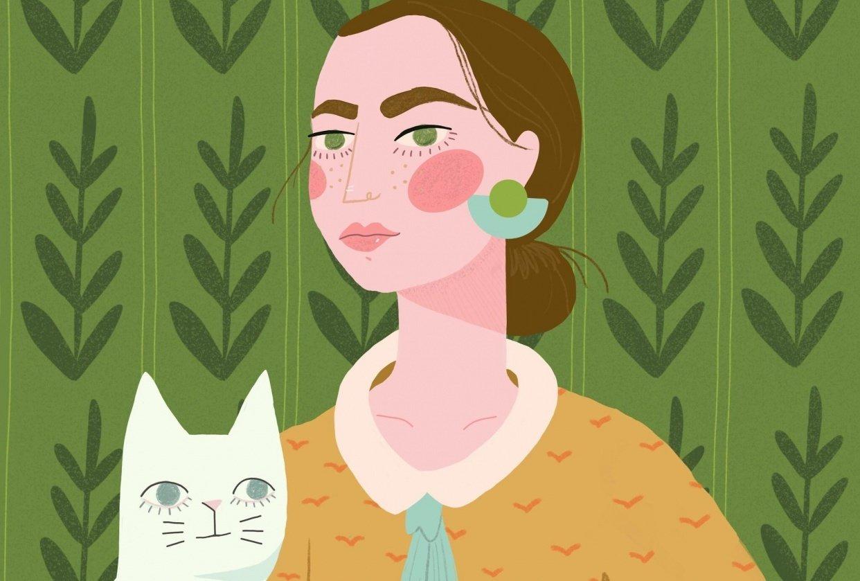Cat ladie - student project