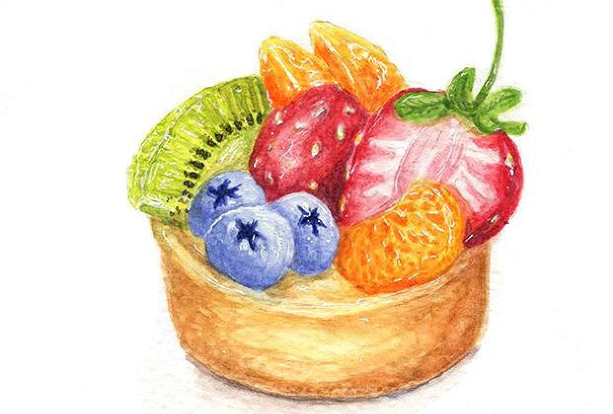 Yummy Fruit Tart - student project