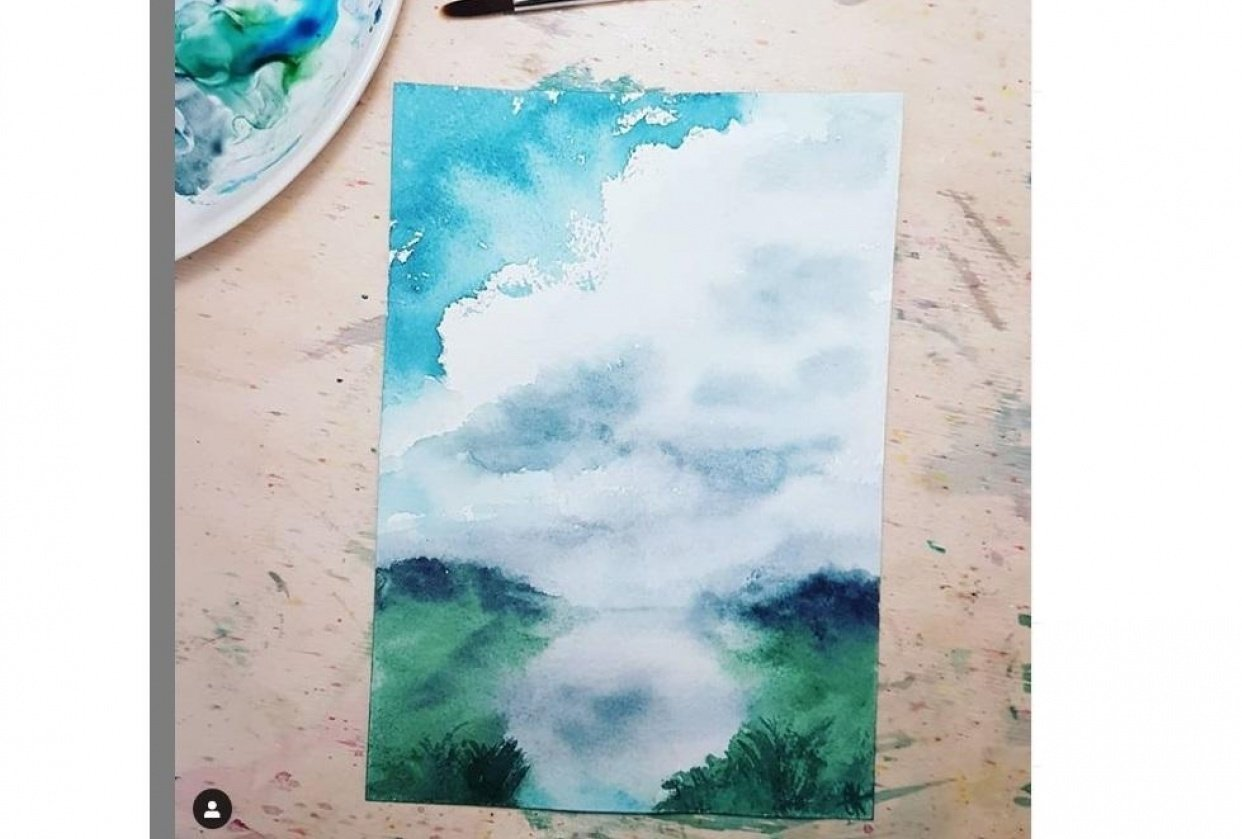 Clouds - Thanks Jessica Sanders! - student project