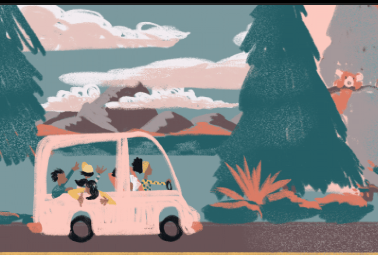 Road Trip! - student project