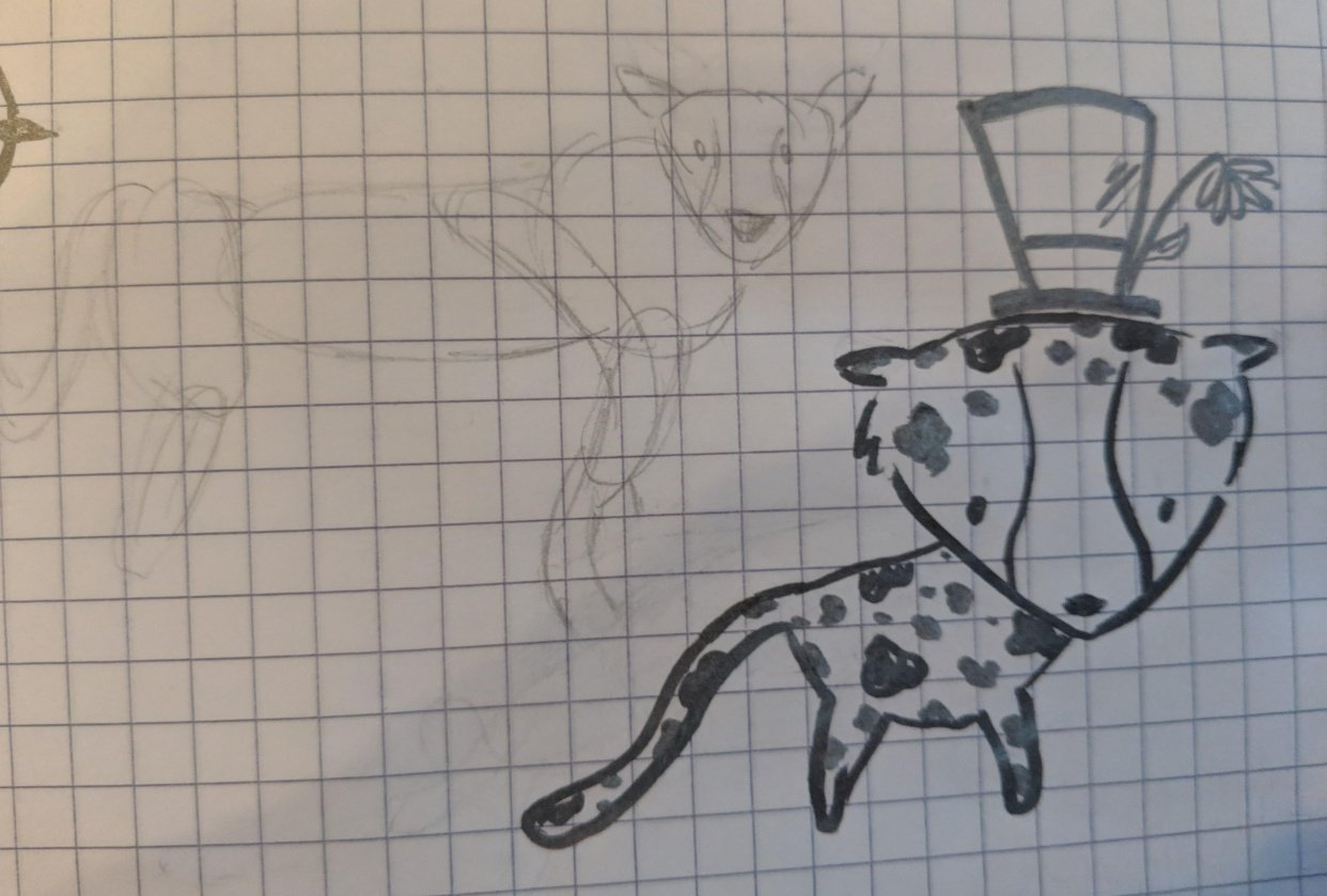 Cheetah cutie - student project