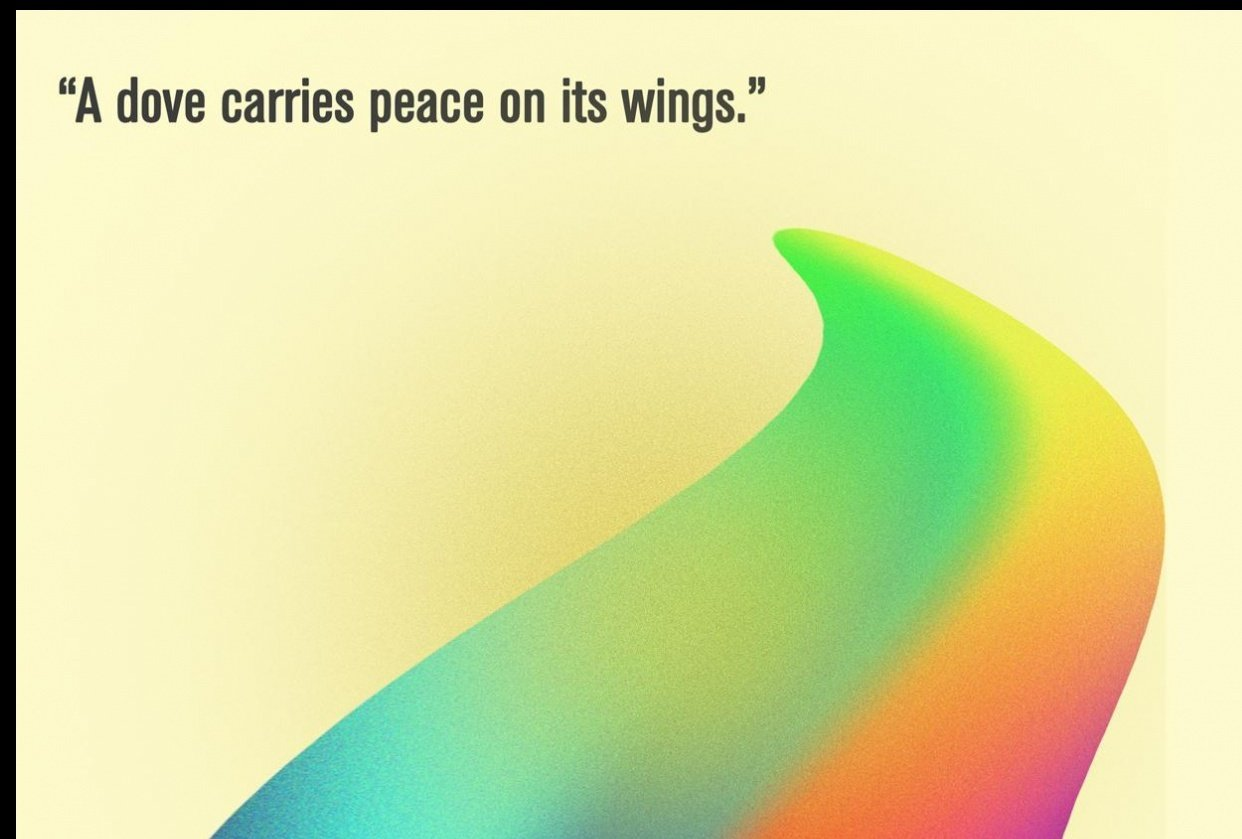 Peace Poster - student project