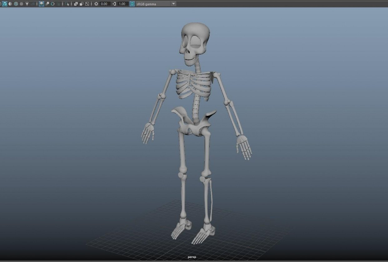 Skeleton Guy - student project