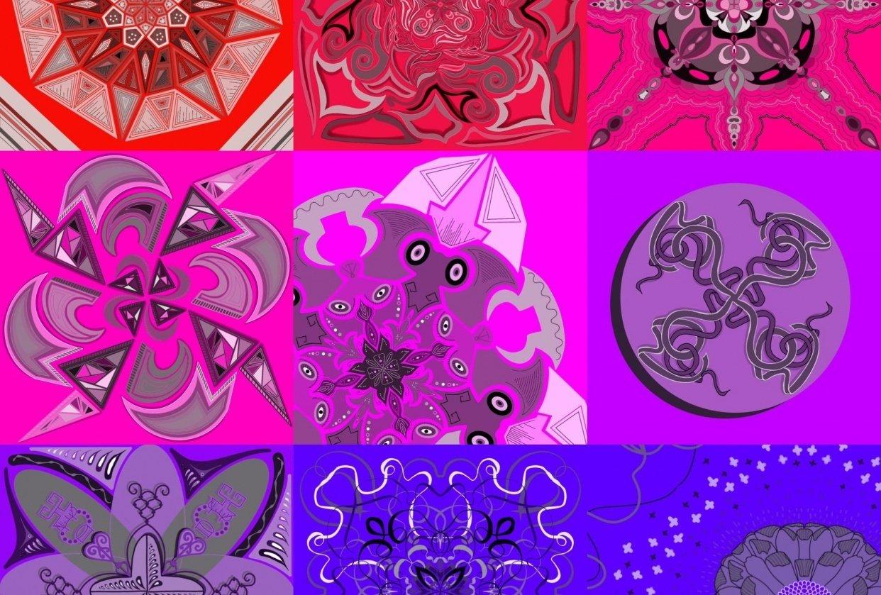 Mandalas Mandalas Mandalas! - student project