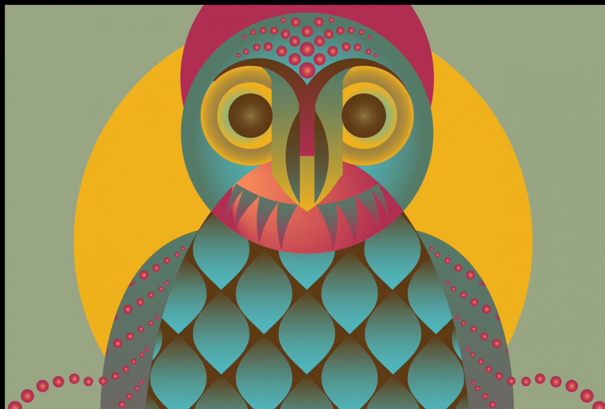 Geometrical Owl - student project