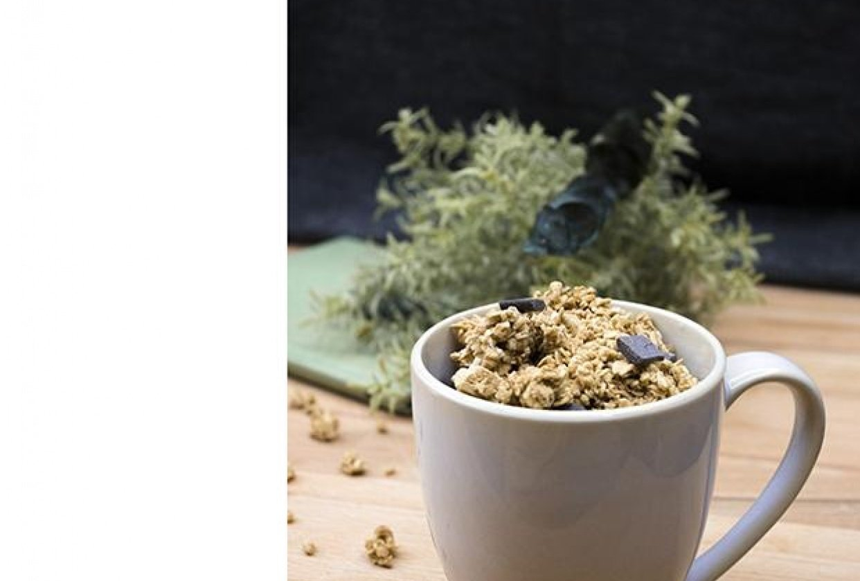 Granola mug - student project