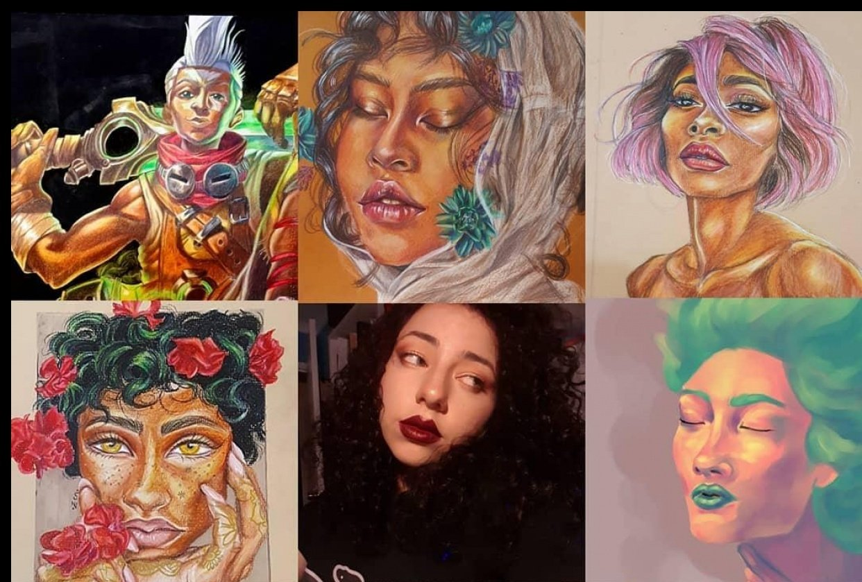 Instagram Artist - student project