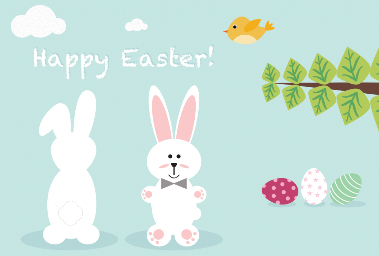Easter card - student project