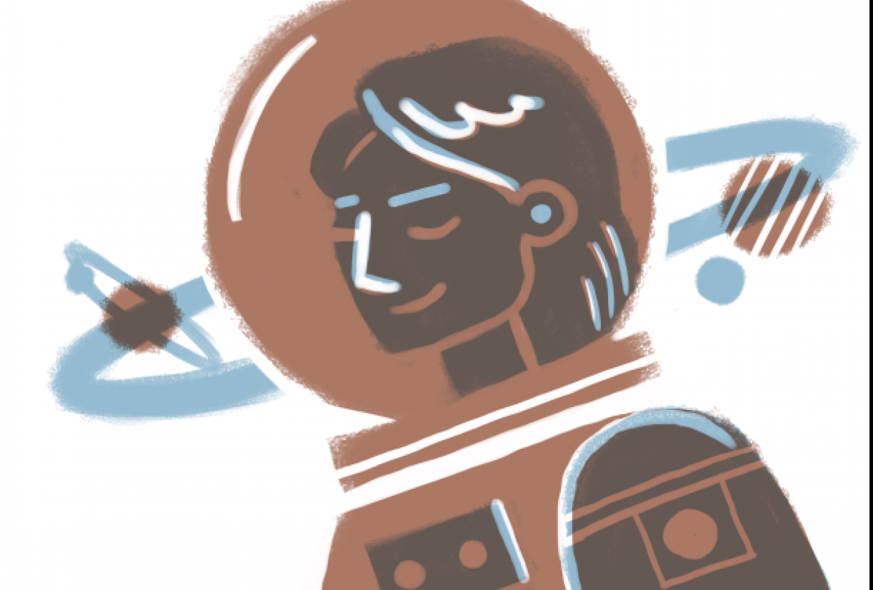 Space Girl - student project