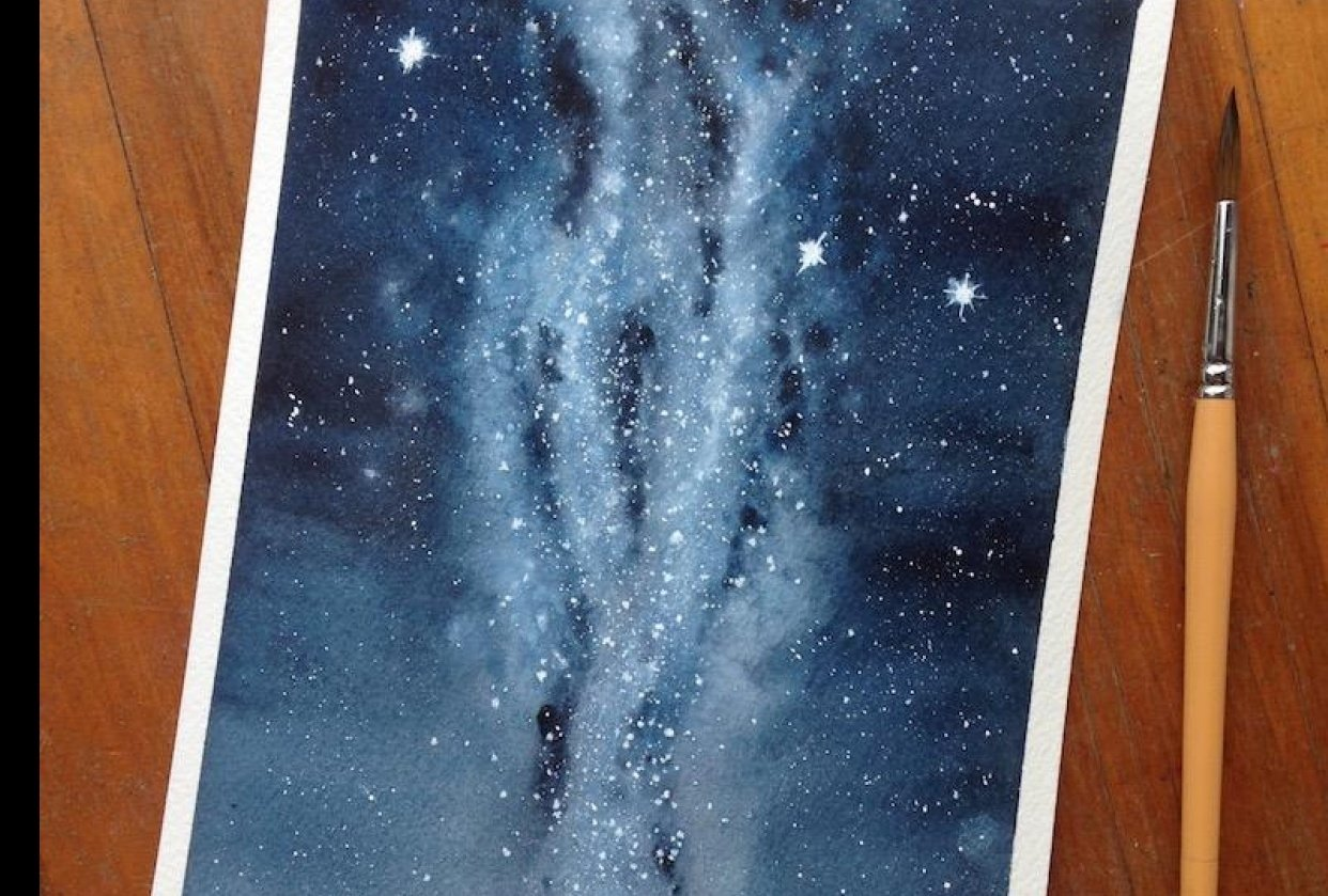 Milky Way - student project