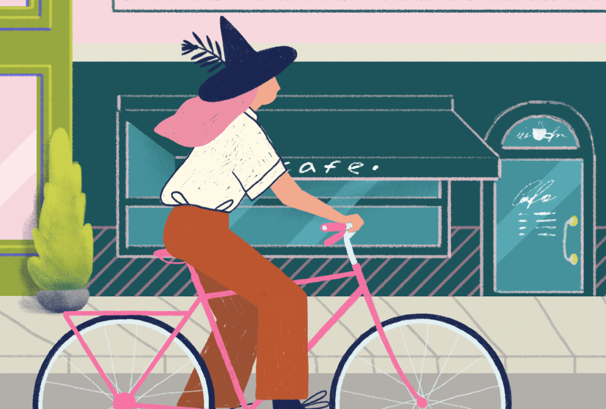 Witchy cycling - student project