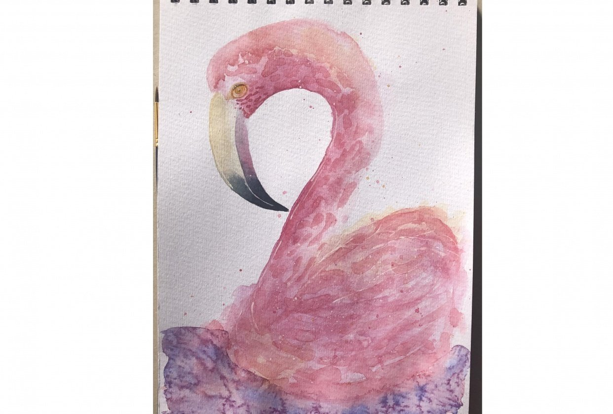 My flamingo :) - student project