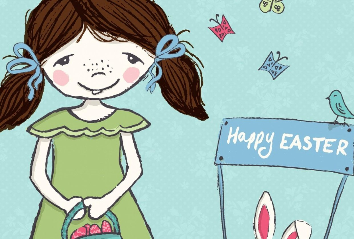 Easter with Little Flo - student project