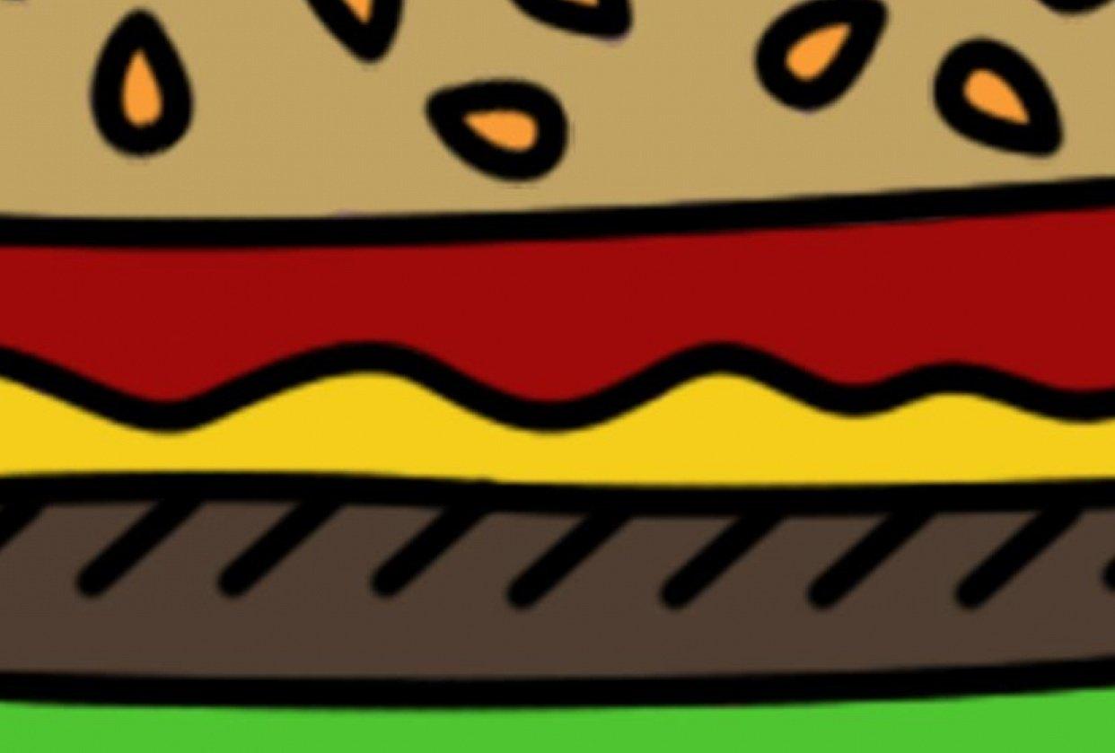 Burger Menu ... kinda? - student project