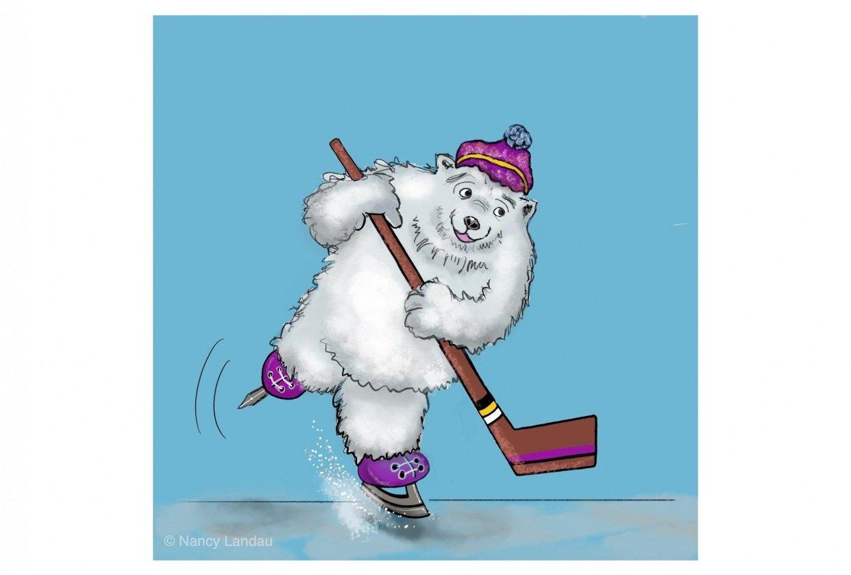 Polar Bear Illustration -N.Landau - student project