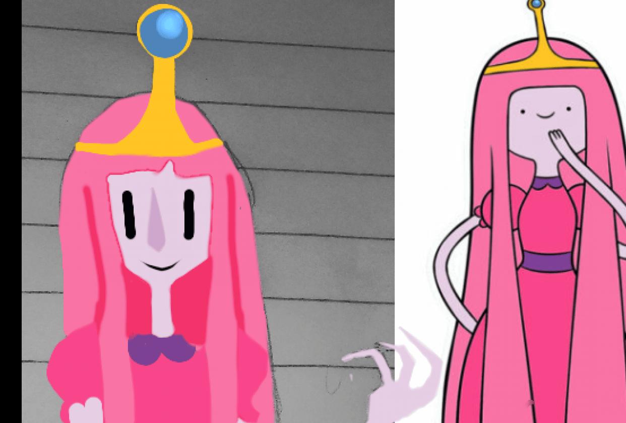 Princess Bubblegum - student project