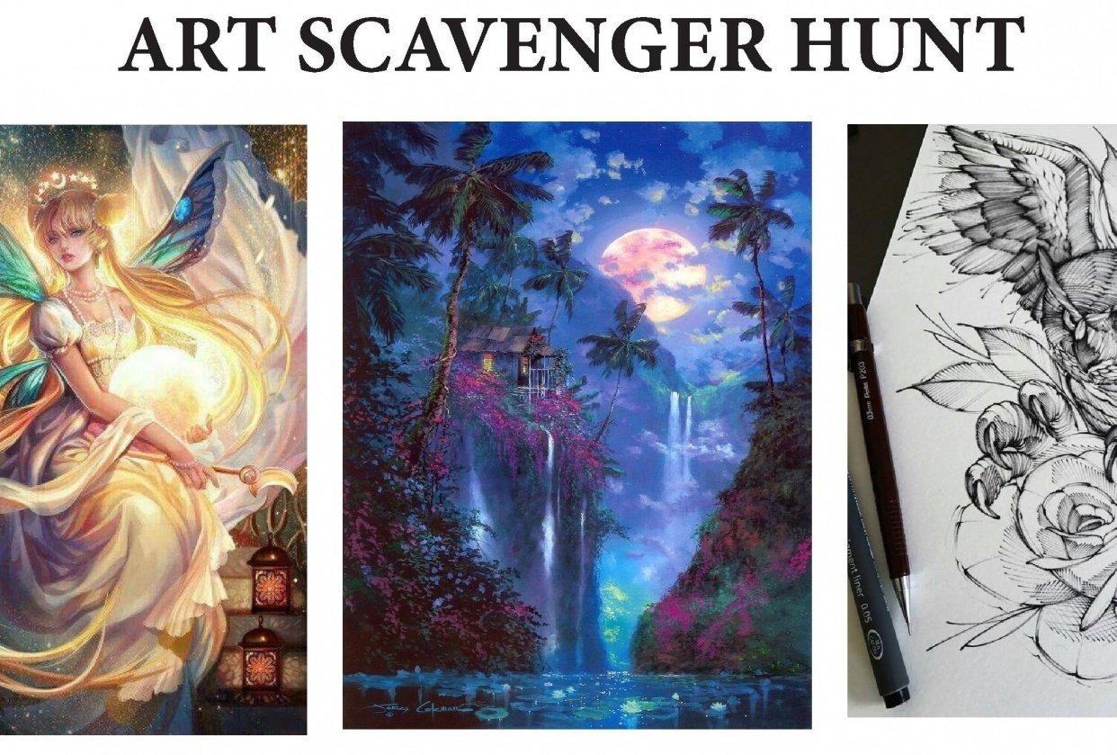 ART SCAVENGER HUNT - student project