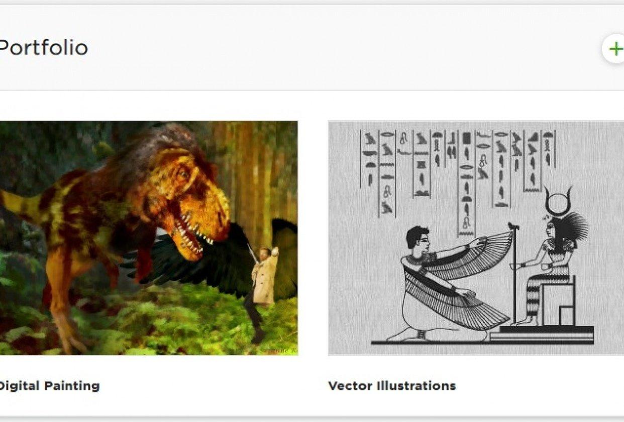 Illustration Profile - student project