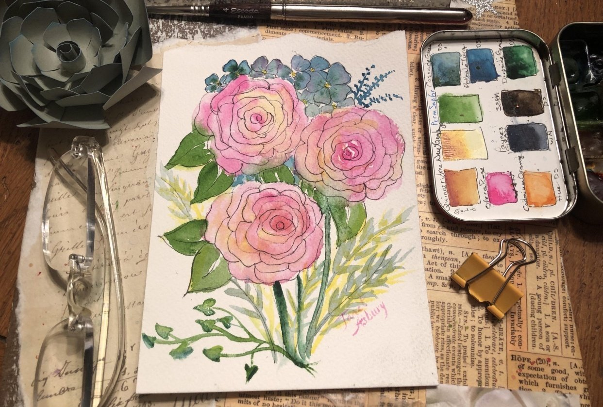 Stephanie's Roses - student project