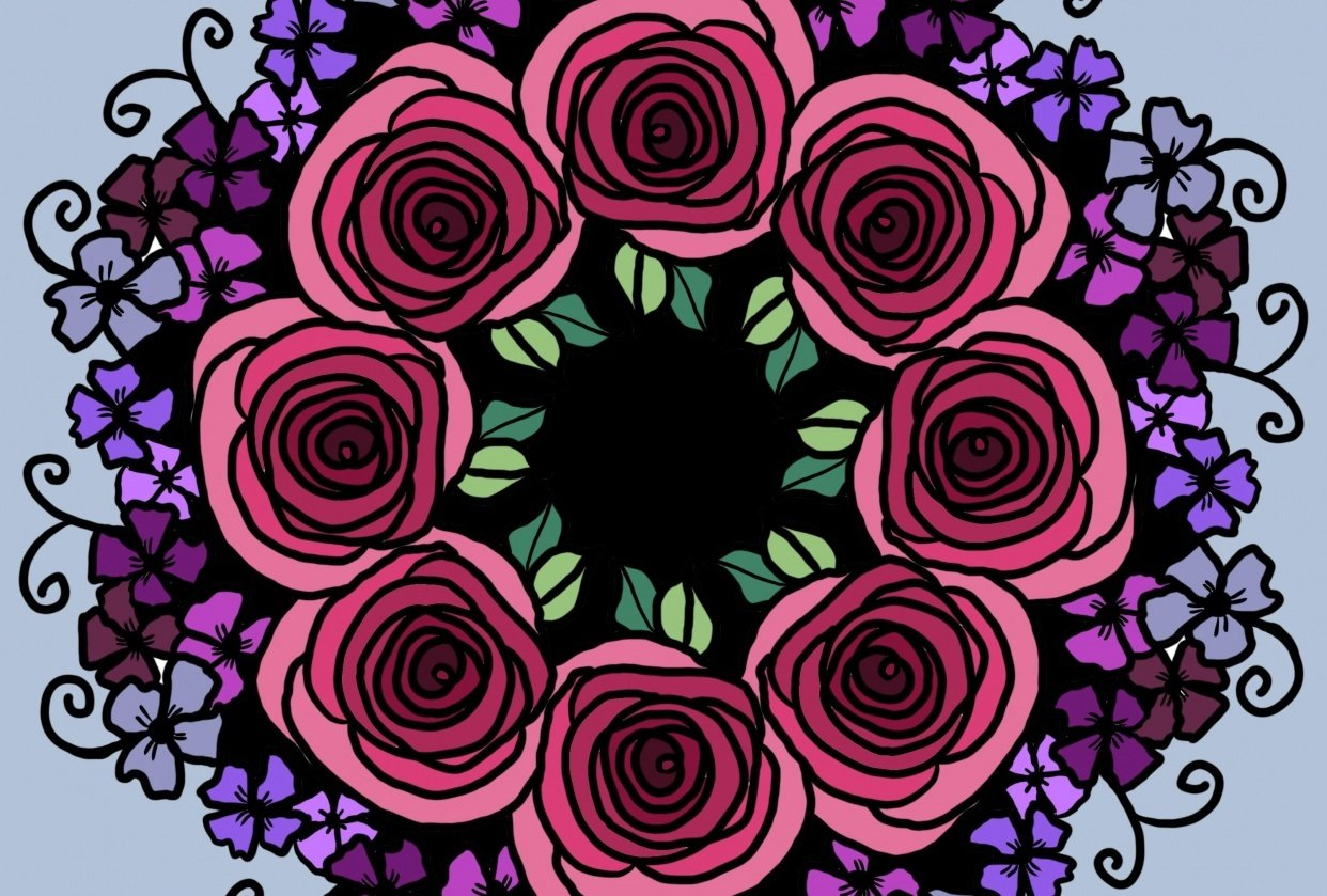Floral Symmetry! - student project