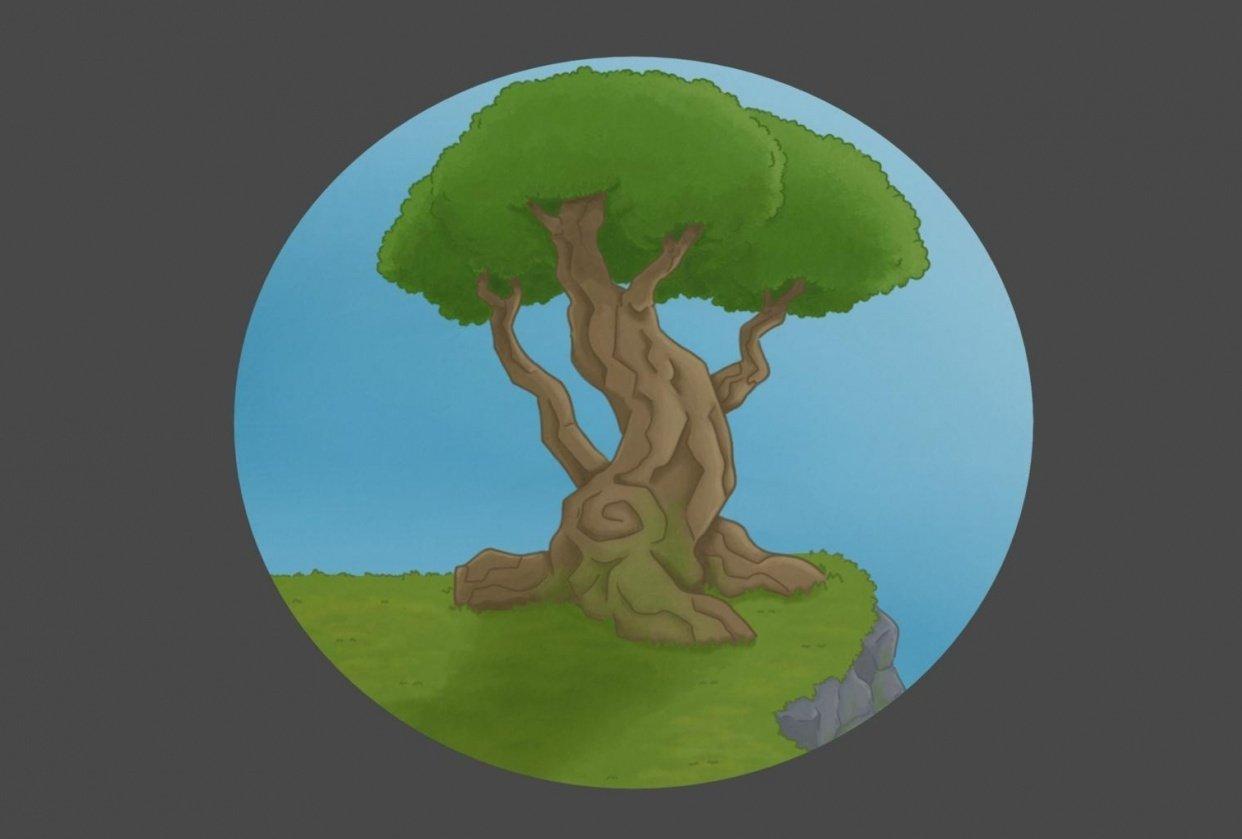 Krita Project: Tree - student project