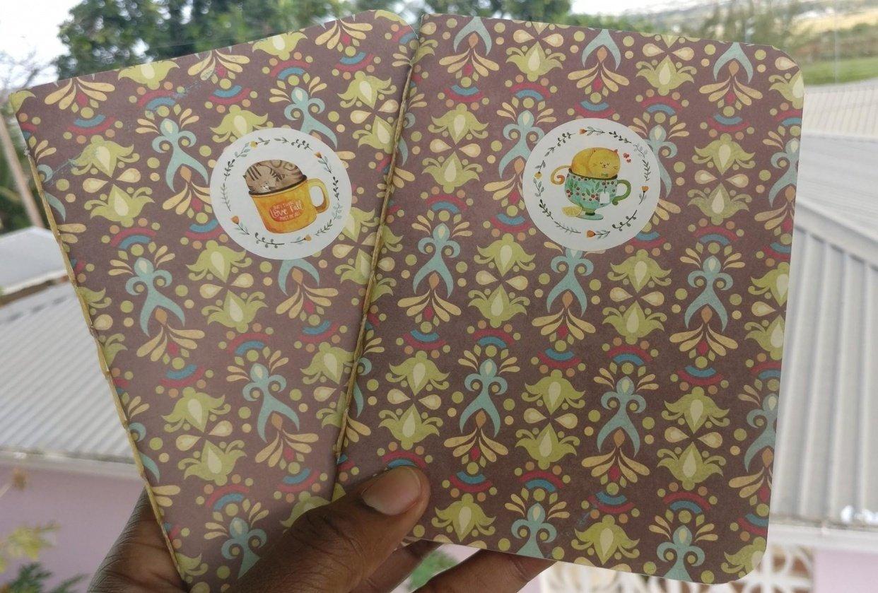 Hitch Stitch Pocket Books - student project