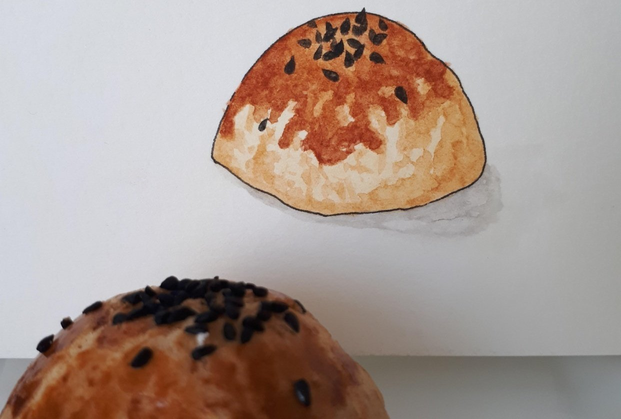 Salty pastry - student project