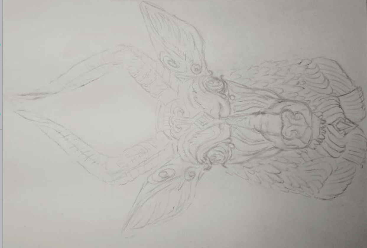 Animal Sketch - student project