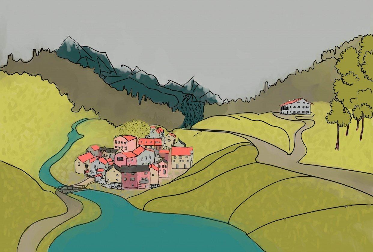 Village - student project