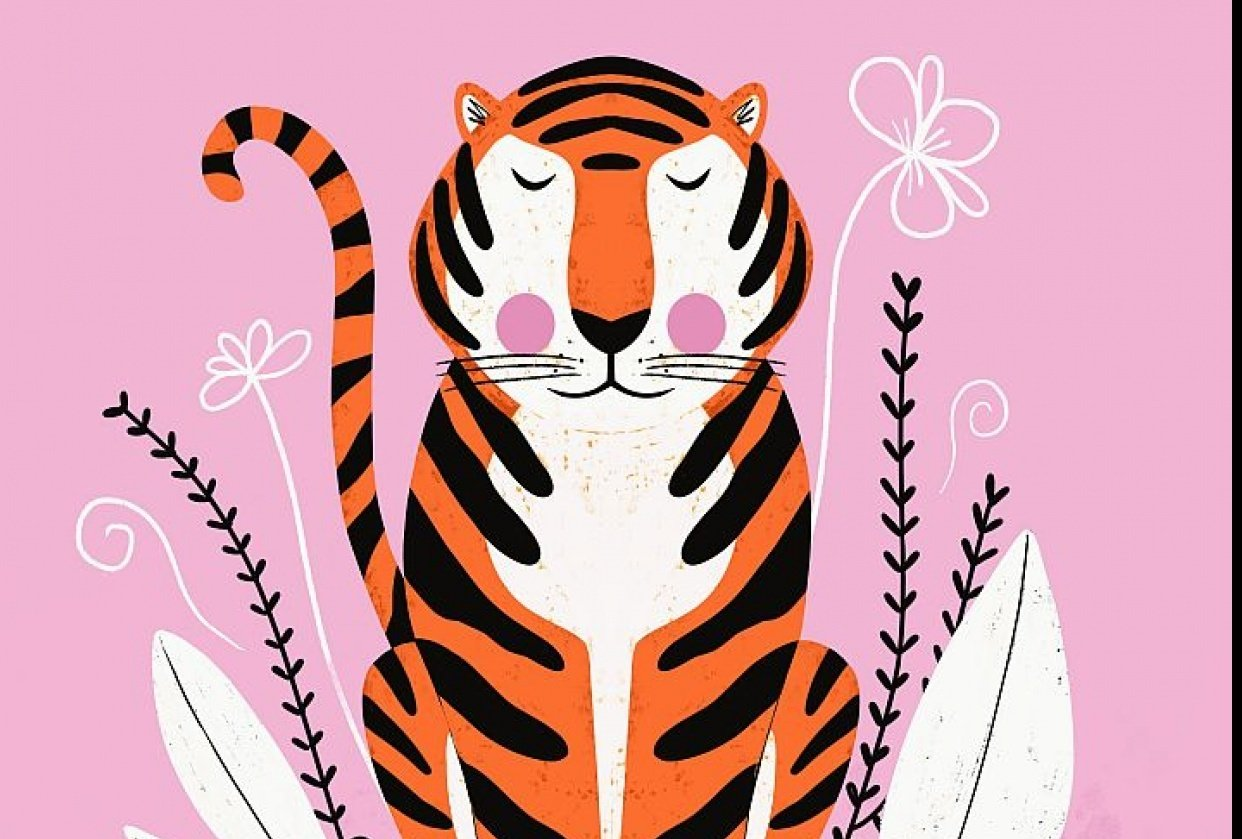 Symmetrical Tiger - student project