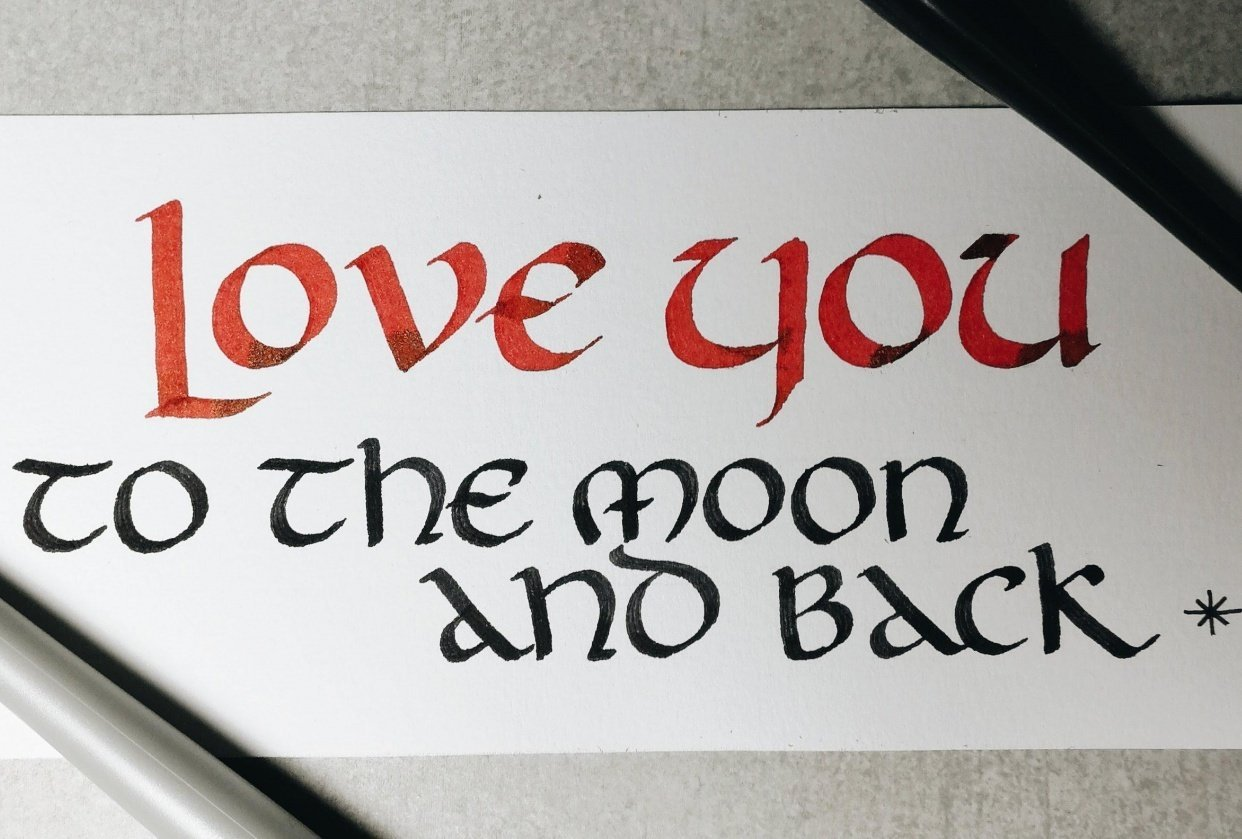 Uncial Practice - student project