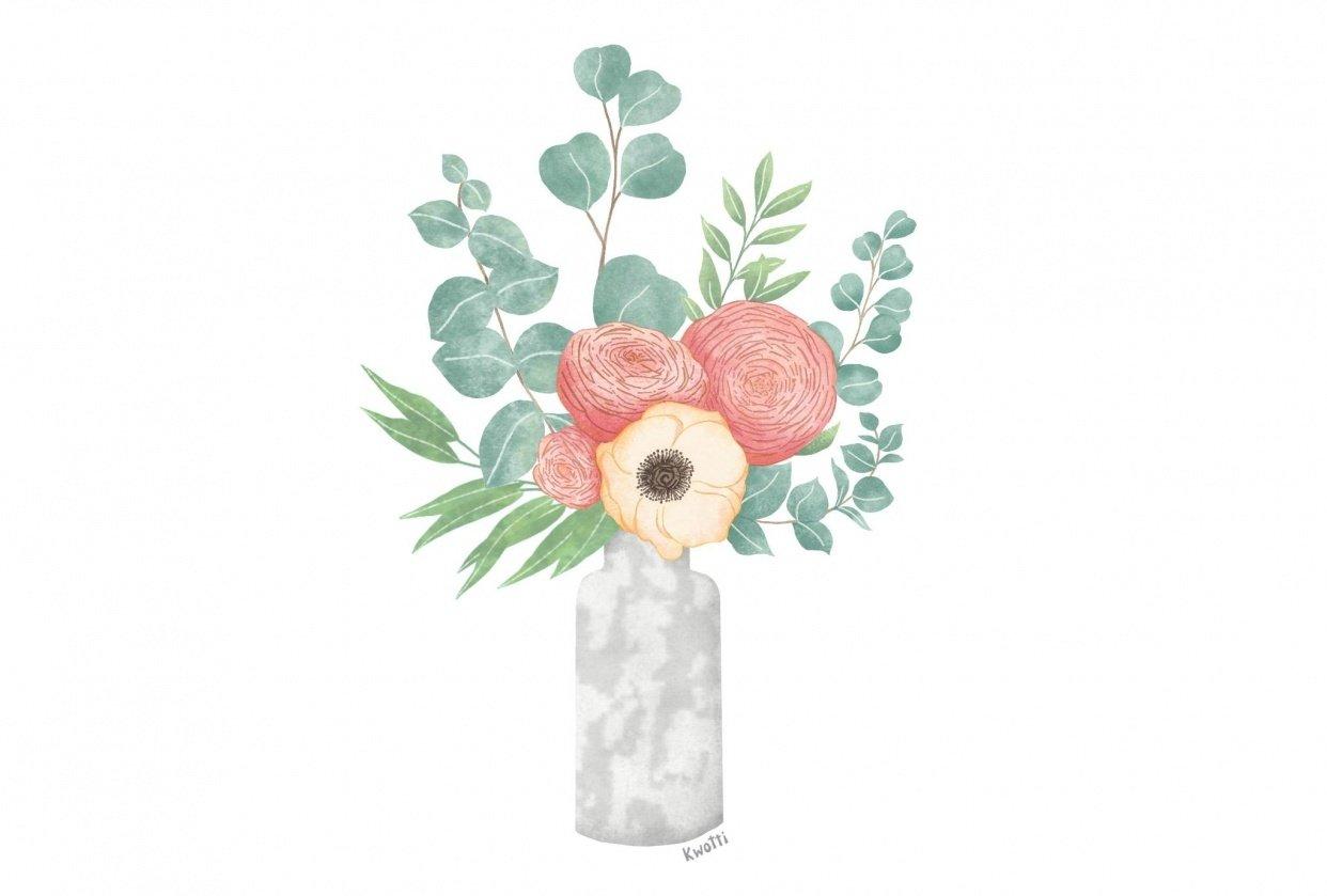 Scandinavian Bouquet - student project