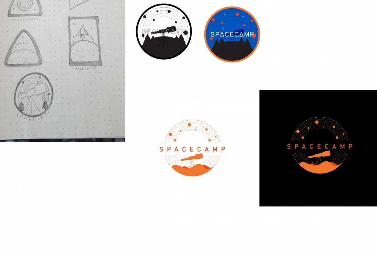 Spacecamp Logo - student project
