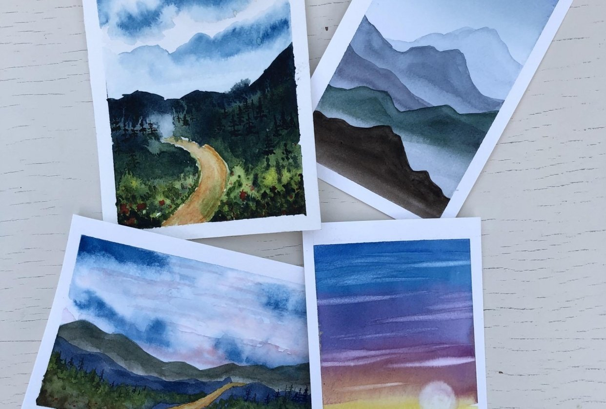 Dreamy Landscapes - student project