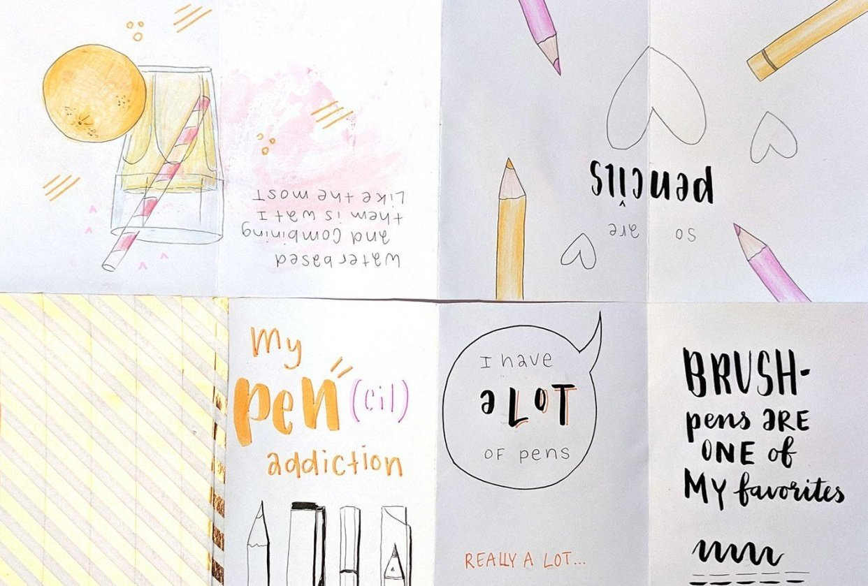 Making Your First Zine: From Idea to Illustration - student project