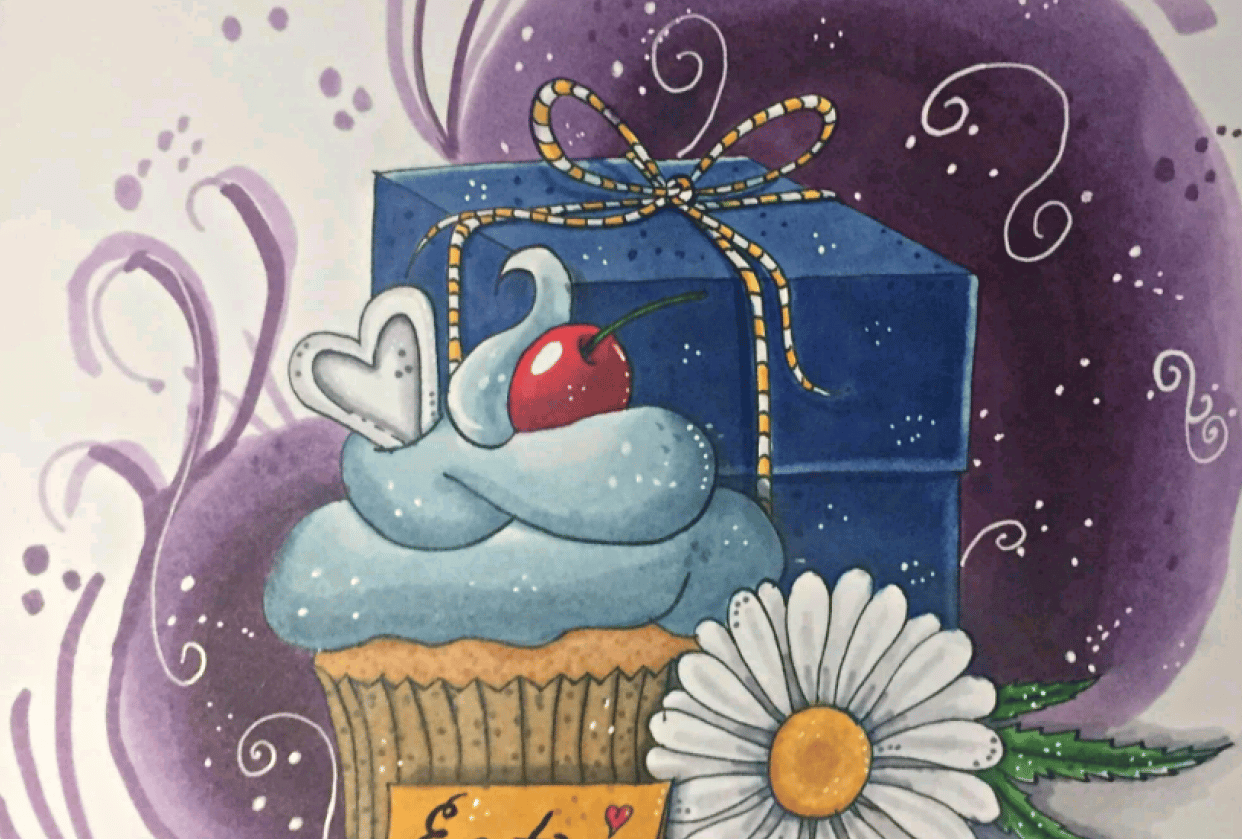 Cupcake for Alice - student project